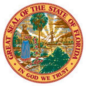 The current Florida State Seal